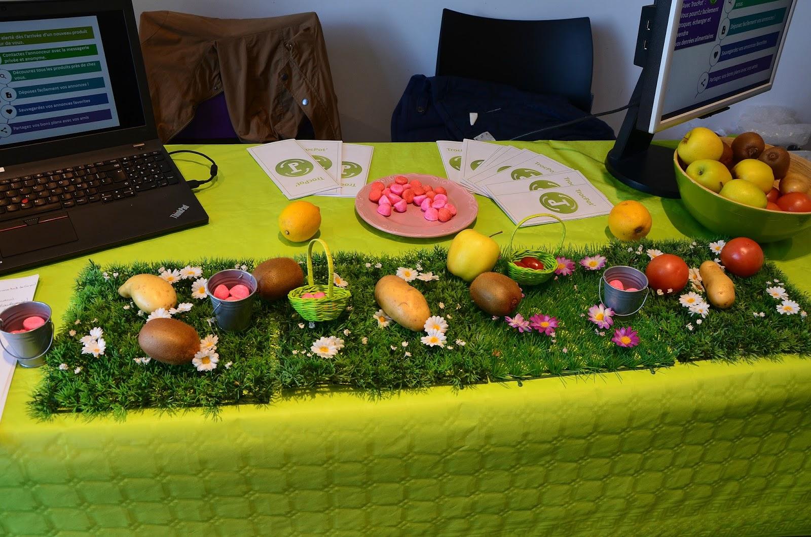 troc pot application smartphone d'échange de fruits et légumes entre particuliers