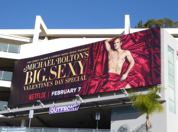 Michael Bolton Valentines Day billboard