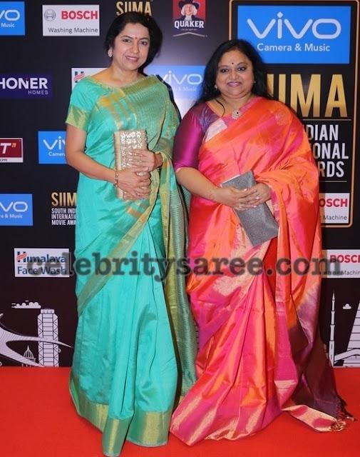 Suhasini and Saritha Silk Sarees