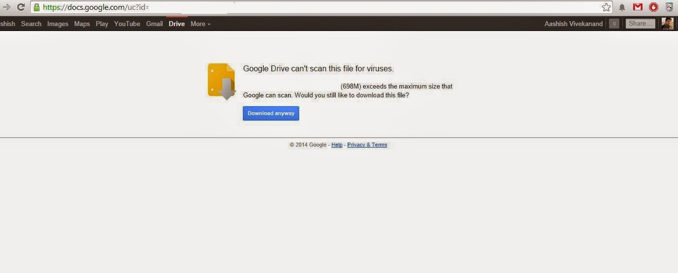 How to Download Files from Google Drive using IDM