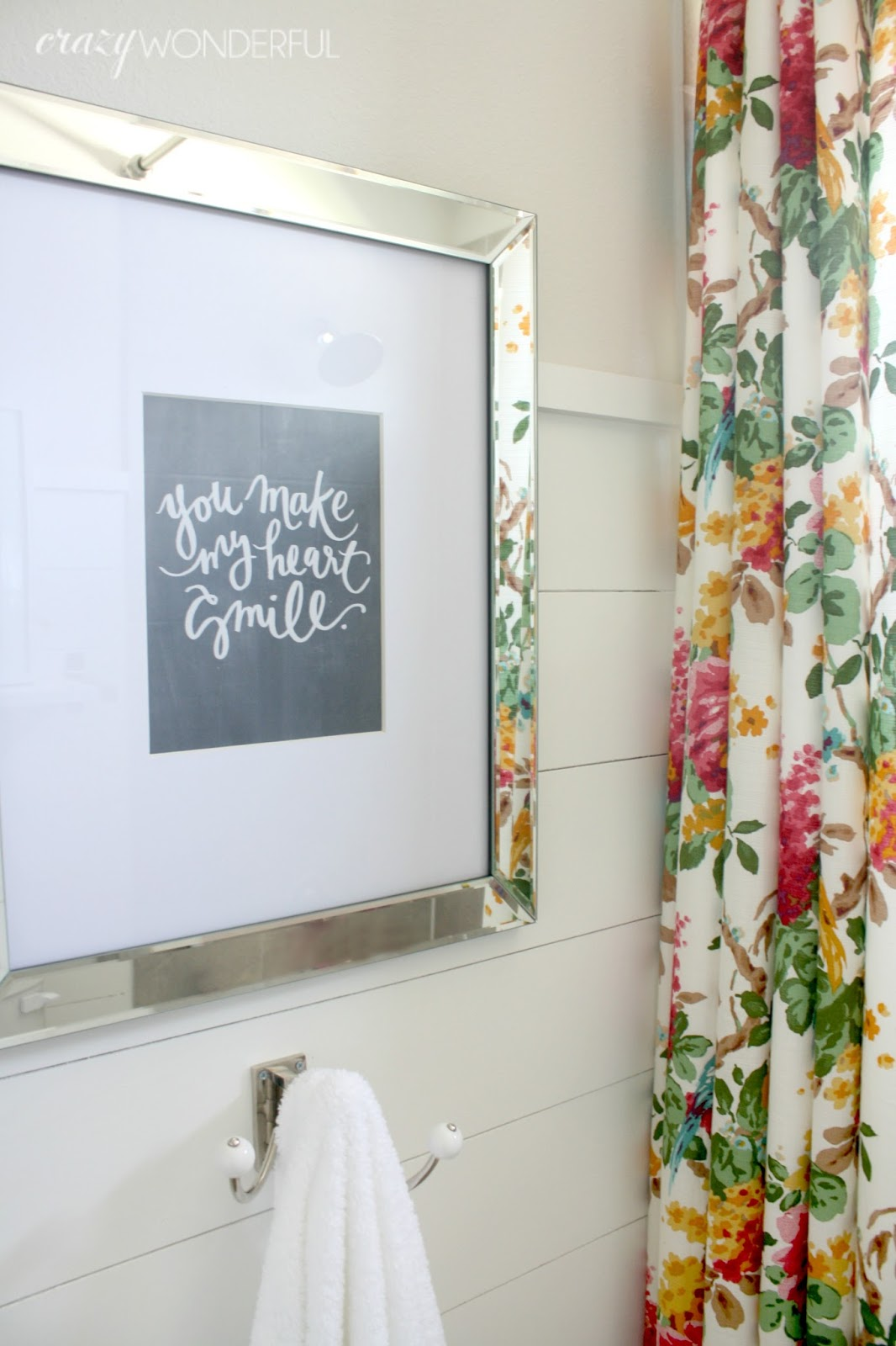Shiplap Girl S Bathroom Reveal Crazy Wonderful
