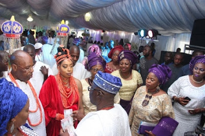 Photos From Ooni Of Ife's Wedding To Wuraola Obanor In Benin
