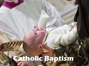 catholic baby baptism