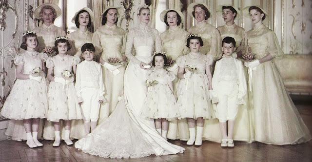 Grace Kelly i jej suknia ślubna