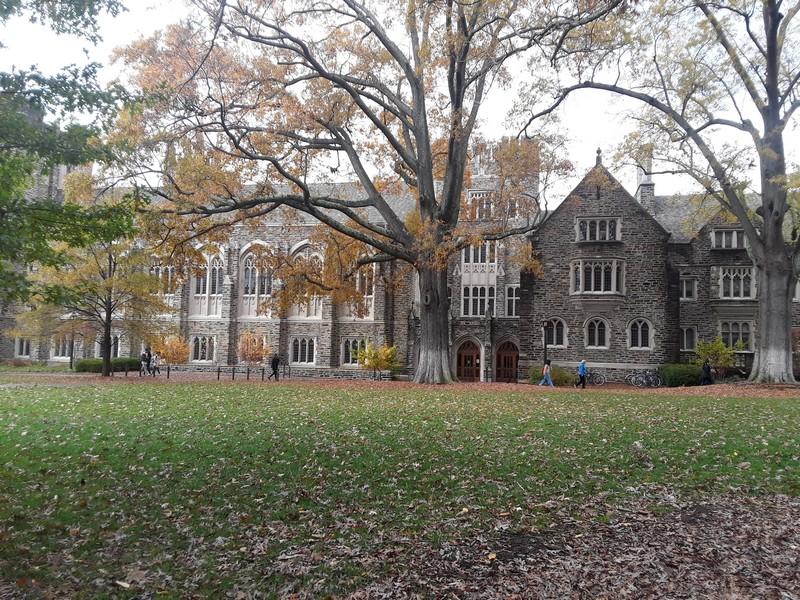 Dans le campus de Duke