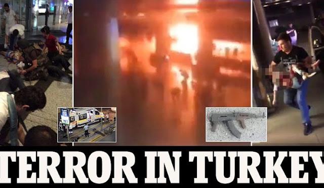 Μακελειό στο αεροδρόμιο Ατατούρκ της Κωνσταντινούπολης.. με πάνω από 50 νεκρούς και δεκάδες τραυματίες (Βίντεο)