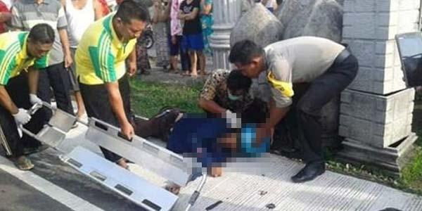 Kecelakaan, Ahmad Dhani Meninggal