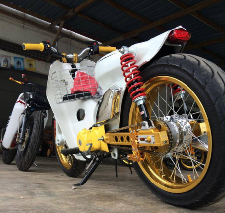 Top motor pitung modifikasi