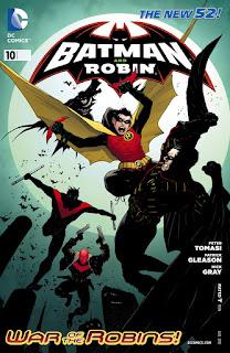 """Reseña de """"Batman y Robin: Perla"""" de Peter J. Tomasi y Patrick Gleason - ECC Ediciones"""