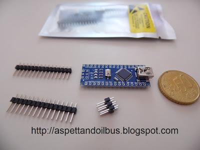 Fig. 2 - Arduino Nano Versione 3.0 compatibile - foto di Paolo Luongo