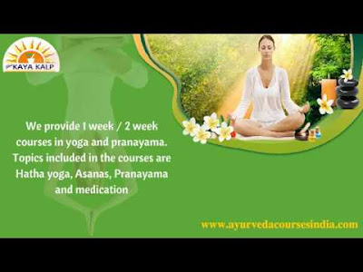 http://ayurvedacoursesindia.com/ayurveda-courses/courses-in-yoga-and-pranayama.html