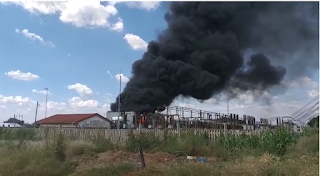 Another Electricity Blow in Midrand