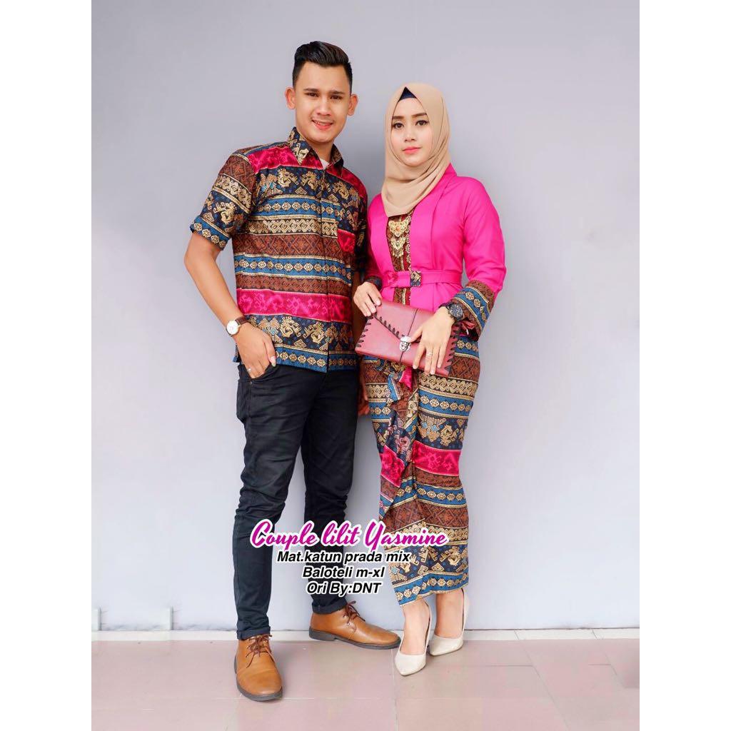 Batik Couple Kebaya Lilit Yasmine