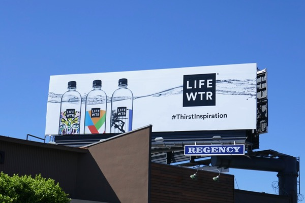 Life WTR Thirst inspiration billboard