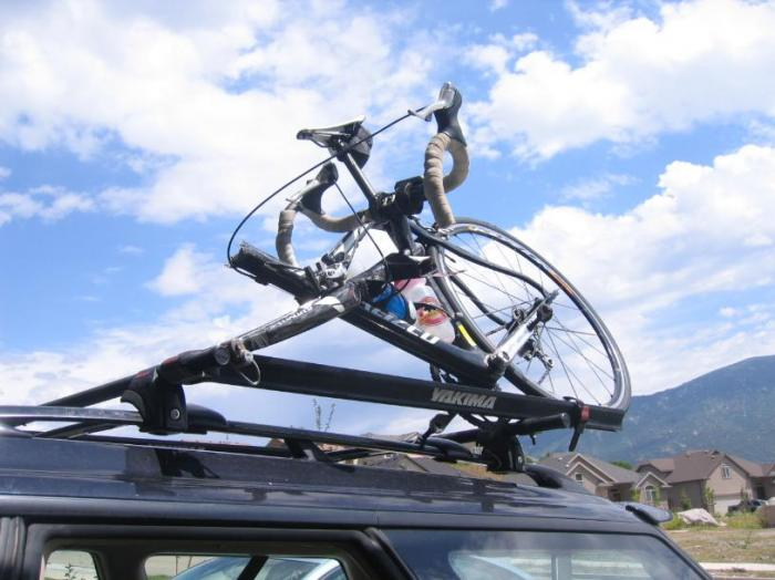 engin1000 / Bike Roof Rack