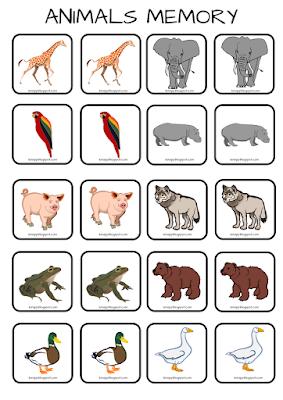 Animals memory na 5 sposobów