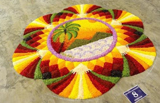 Onam Athapookalam Designs