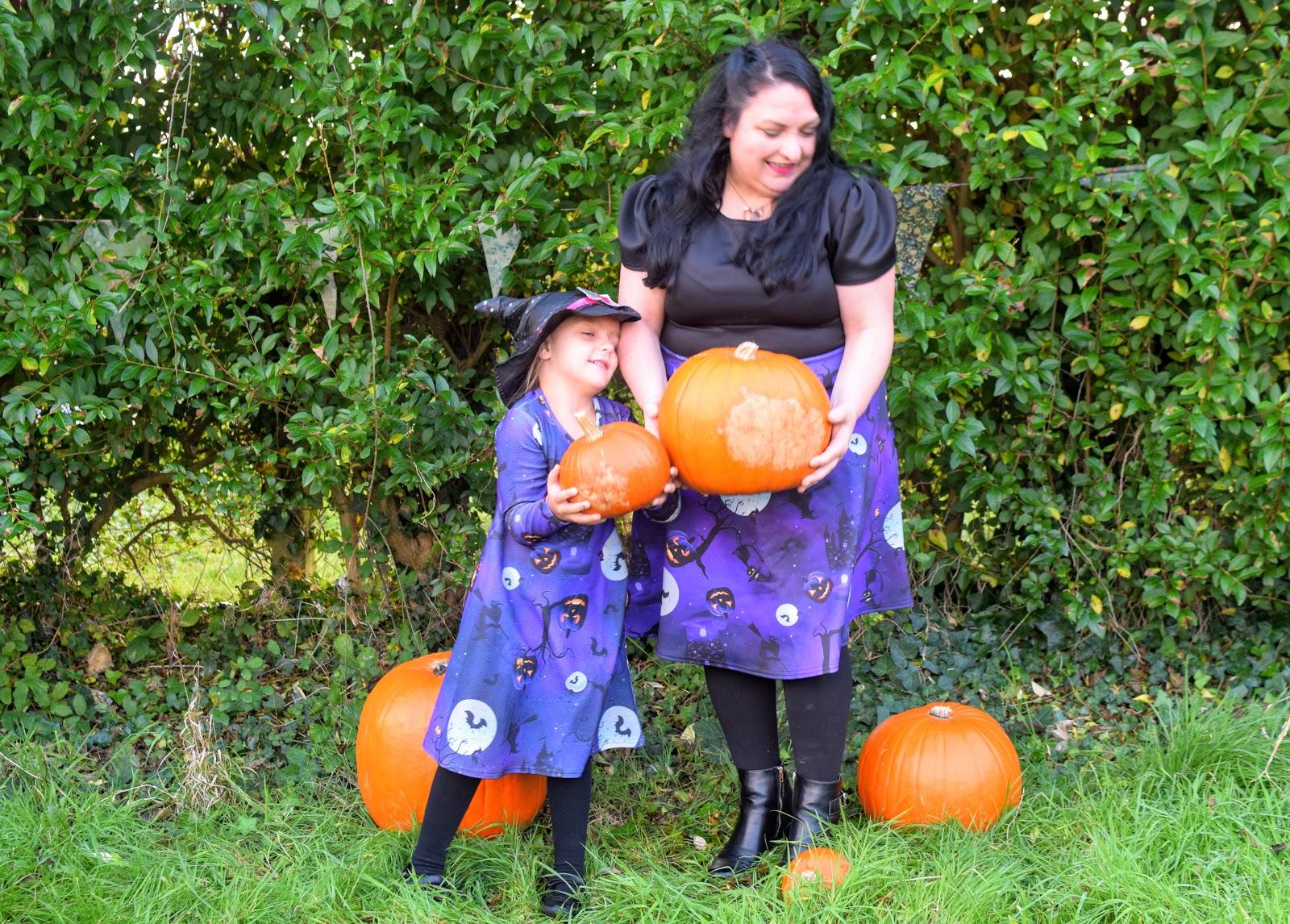 , We Carried a Pumpkin #WantThatTrend Halloween Dress Review