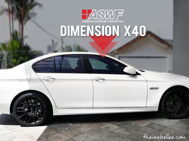 ASWF American Standard Window Film Dimension X40