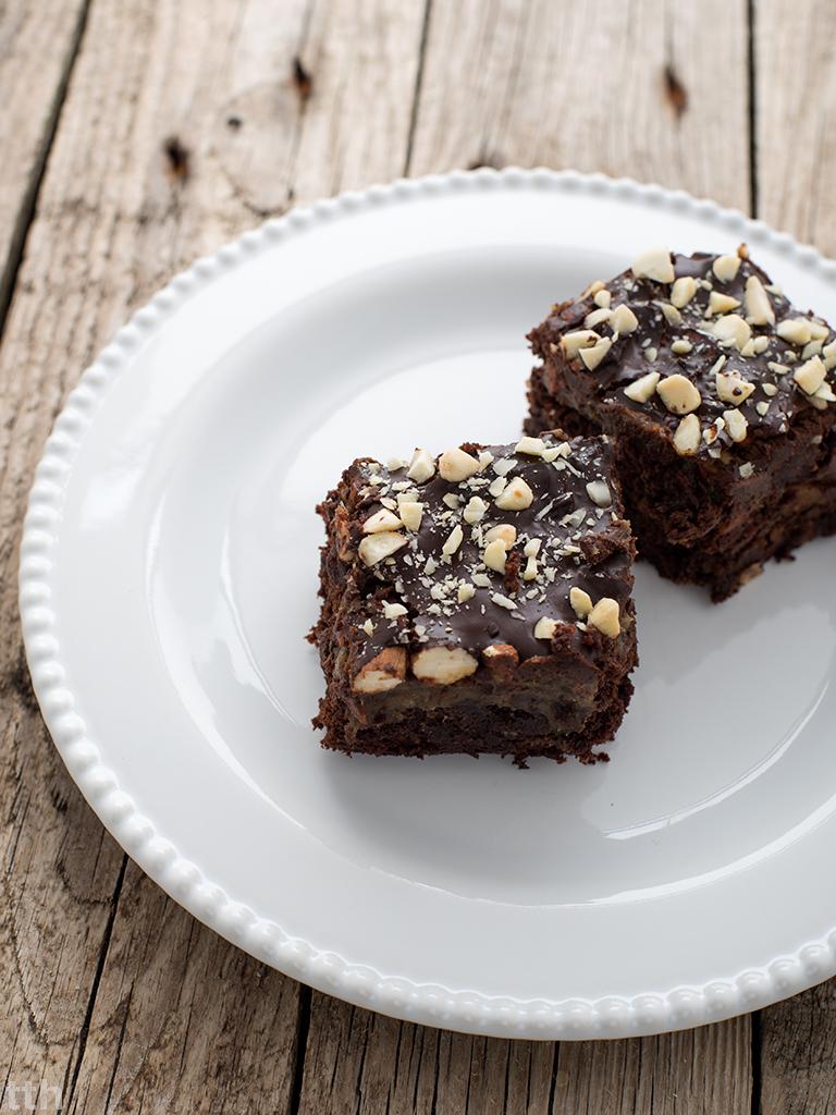 brownie burak bezglutenu bezcukru wegańskie karmel