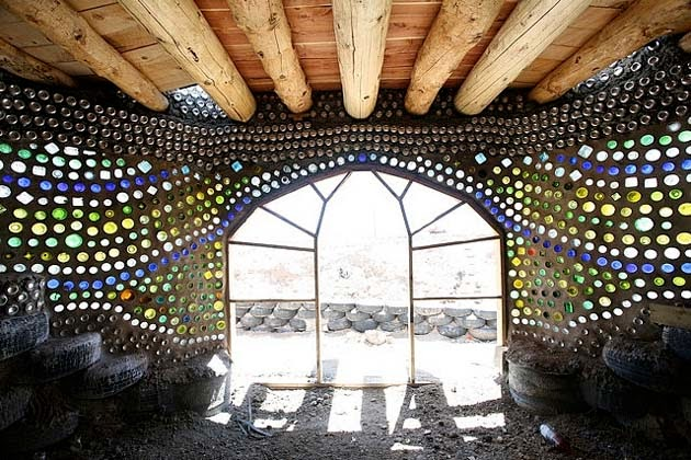 10 reasons why earthships are awesome - made of recycled materials 1