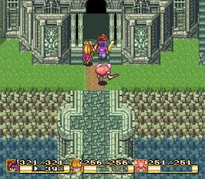 Secret of Mana - Entrada torre