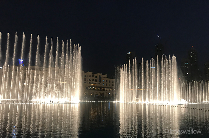 The Dubai Fountain - littleswallow.me