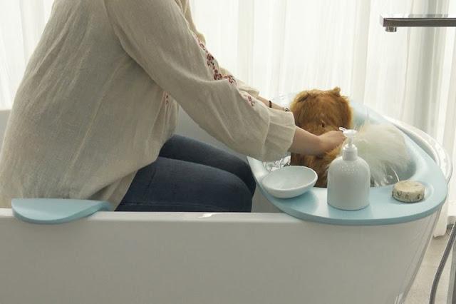 Ванночка Bath Cradle для Вашей собаки или кошки