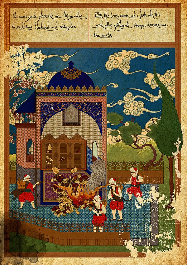 Murat Palta - Incarnated by Words - Farenheit 451 || #LibrosPOP - LasMilVidas