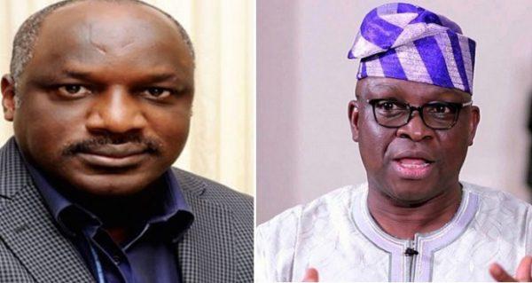 Joining APC is like leaving Jesus Christ for Satan – Fayose Replies Aluko