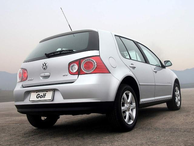 VW Golf 2008 Comfortline Automático - Prata