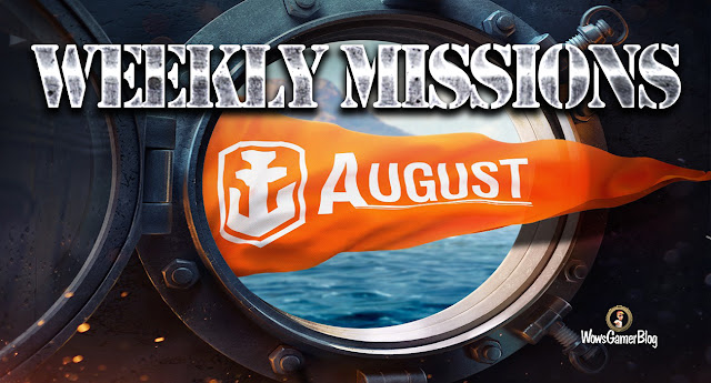 World of Warships - Weekly Festive Missions