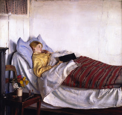 The Sick Girl (Michael Peter Ancher) 1882