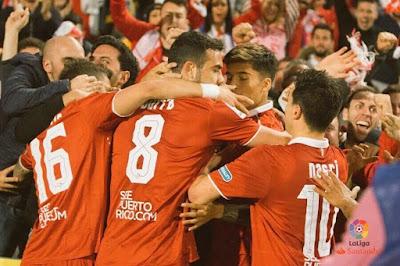Crónica UD Las Palmas 0 - Sevilla FC 1