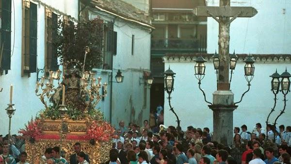 Horarios e Itinerario Procesión Divina Pastora de Capuchinos. Córdoba 30/09/2018