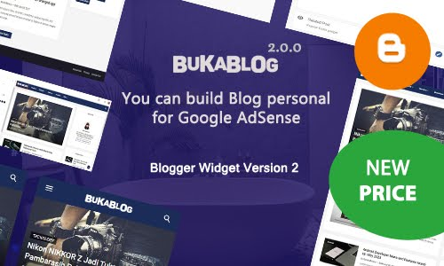 Blogger Pro Template Blogger for AdSense