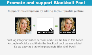 promote support blackball pool twibbon