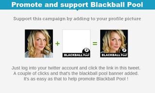 promote support blackball pool twibbon