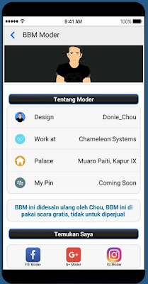 Kumpulan BBM Mod Versi 3.3.4.48 Apk Terbaru Clone dan Unclone