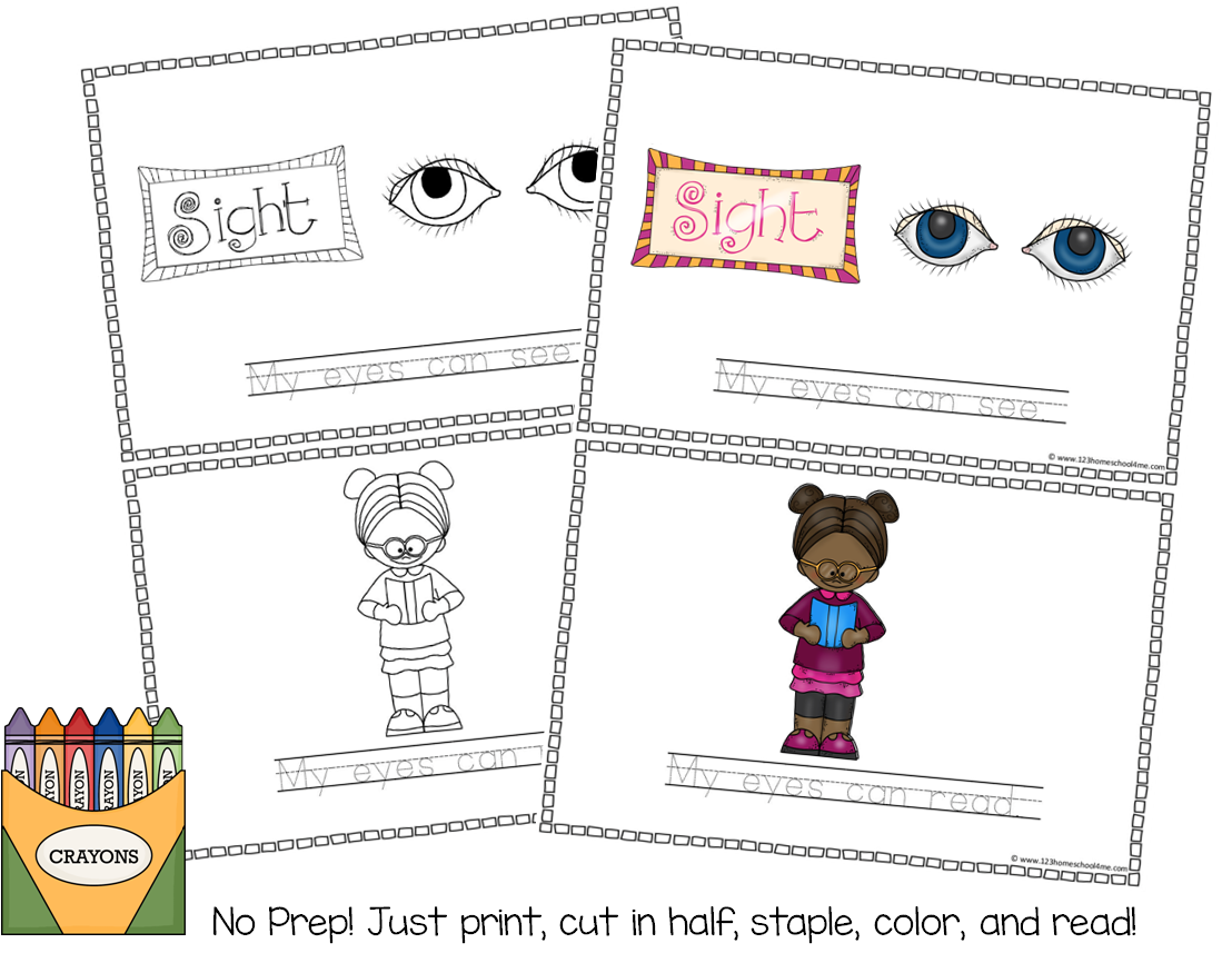 5 Senses Experiment Worksheet