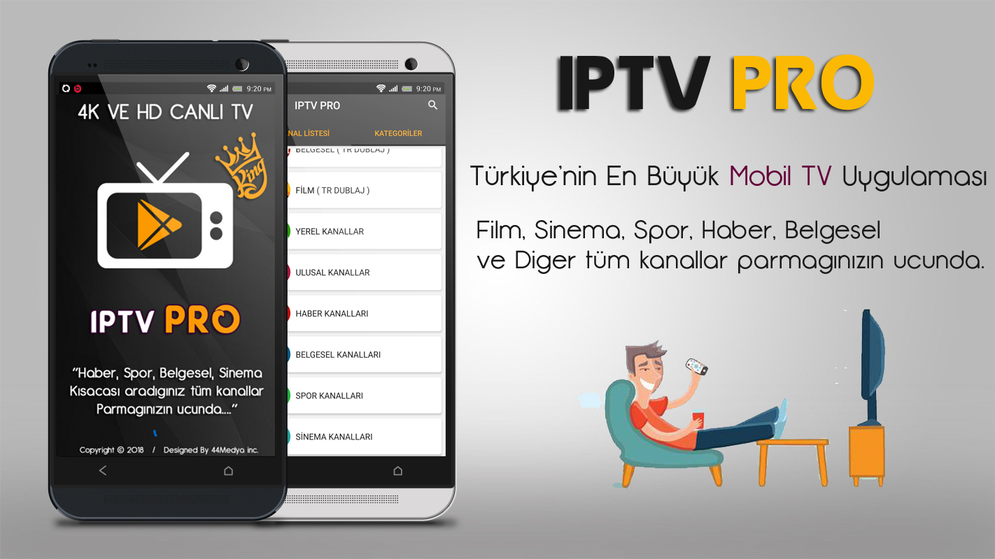 iptv, canlı tv, iptv pro, mobil tv, android tv