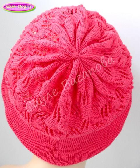 Стянули макушку шляпки