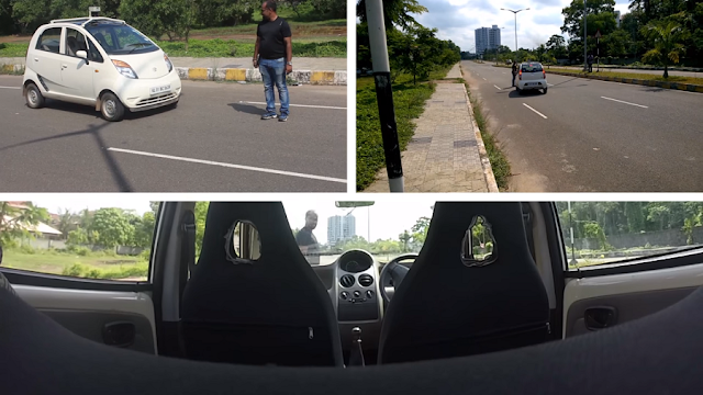 Driverless car for Indian roads, now made in India