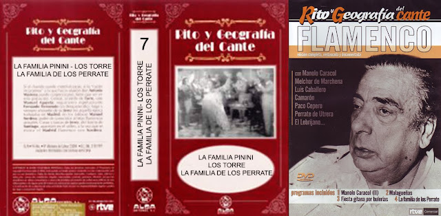 """GASPAR DE UTRERA """"LA FAMILIA DE LOS PERRATES"""" RITO Y GEOGRAFÍA DEL CANTE (1972) ALGA EDITORES 1996 - RTVE 2005"""