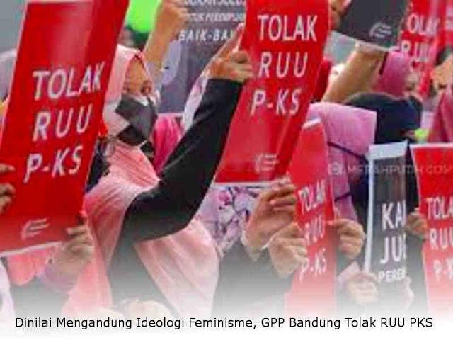 Dinilai Mengandung Ideologi Feminisme, Gerakan Peduli Perempuan (GPP) Bandung Tolak RUU PKS
