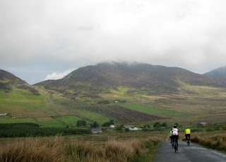 Approaching Mamore Gap near Owenerk, Ireland