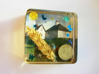 Unique Christmas Gifts - Barley Paperweight