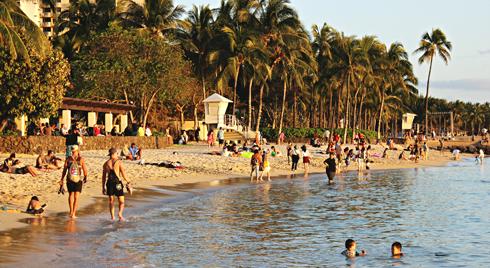 waikiki beach honolulu oahu