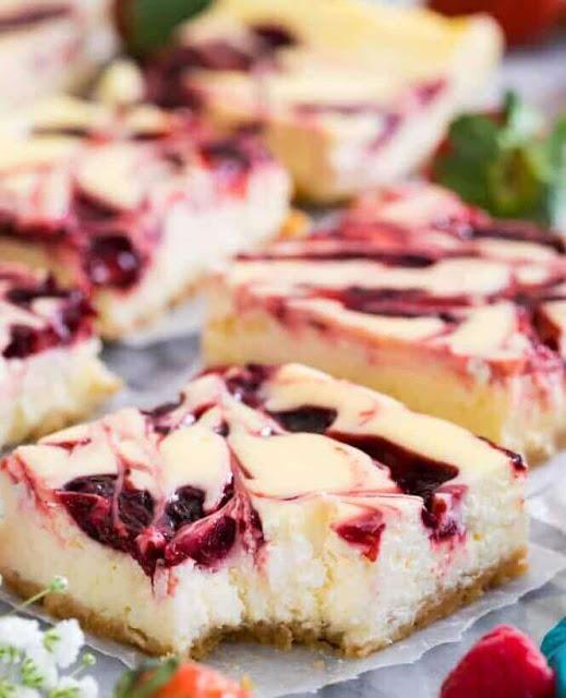 Lemon Blueberry Cheesecake Bars