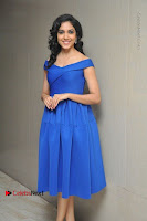 Actress Ritu Varma Pos in Blue Short Dress at Keshava Telugu Movie Audio Launch .COM 0083.jpg